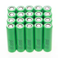 Quality Authentic samsung 25r 3.7v blue/green samsung inr18650-25r battery 18650 35 amp battery samsung 18650 25r for sale