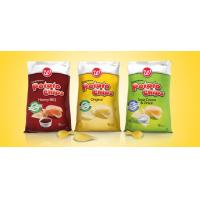Quality Snacks / Potato Chips Printed Food Packaging Plastic Bags aseptic for sale