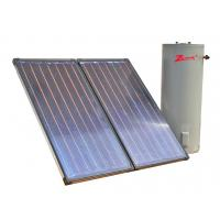 China flat plate solar water heater collector on sale