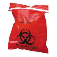 Quality Large Autoclavable Biohazard Waste Bags Recyclable 15 - 100 Micron Thickness for sale