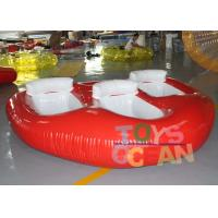 Quality Crazy Inflatable Water Toys Donut Boat Towable Ski Tube For Flying Water Sport for sale