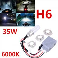 Buy Error Canceller Super Bright 35W 6000k Slim Ballast H4 H6 H7 Motorcycle Xenon HID Kit at wholesale prices
