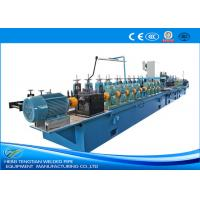 Quality Decoration Use Stainless Steel Tube Making MachineWelding Speed 15m / Min Pipe Dia 64mm for sale