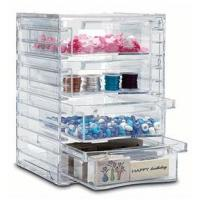 Quality Tower Design Acrylic 4 Drawer Organizer With Quick Delivery for sale