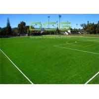 Buy Easy Installed Soccer Artificial Grass / Fake Grass Mat With PP Bag Packing at wholesale prices