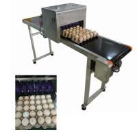 Industrial Software Operation Egg Printing Machine , HD Inkjet PrinterFor Eggs for sale