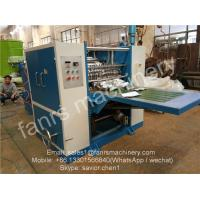 Buy cheap Blue Color Food Box-packed Foil Sheet Folding Machine For Pop up Paper Use from wholesalers