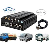 Quality AHD 720P 960P HDD SD card 3G Mobile DVR / MDVR 4 channel dvr integrate with Oil Sensor for sale