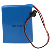Quality NMC 12V 2200mAh 18650 Rechargeable Battery Pack 1C Discharge for sale
