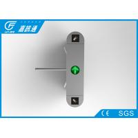 Buy Industrial 3 Arm Stainless Steel Turnstiles Security Pedestrian Access Control at wholesale prices
