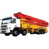 Quality 94m/H 279kw Truck Mounted Concrete Pump Road Construction Machinery for sale
