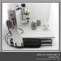 Quality Hot Sale Hobby 3D 4 Axis Carving Milling Engraving Wood CNC Router Machine for sale
