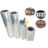 Buy Yokurt Bundle Packing Heat Shrink Plastic Film , Soft Poly Shrink Film at wholesale prices