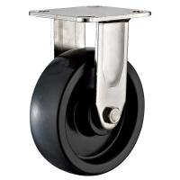 Quality Heavy Duty Rigid Stainless Steel Caster Wheels For Warehouse Carts 3 Inch for sale