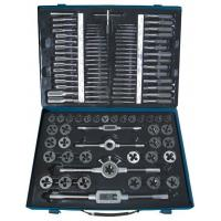 Quality High Precision Alloy Steel Tap and Die Sets 110 PCS Cutting Tool with Metric & Inch size for sale