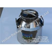 Buy cheap SS Milk Bucket Series , Double Stainless Steel Milk Can Heat Insulation Barrels from wholesalers