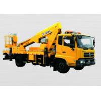 Quality 21.5m Boom Lift Truck XZJ5100JGK used for reaching up and over machinery for sale