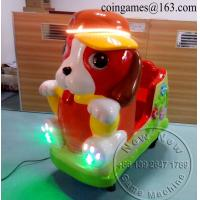 Quality Amusement Park Dog Animal Coin Operated Kiddie Rides for sale