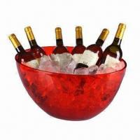 China Jumbo Plastic Ice Bucket, Various Colors are Available on sale