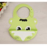 Buy cheap 31.5cm X 21.5cm Baby Bibs With Button Closure from wholesalers