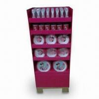 Quality POP/POS/FSDU Floor Display Stand for Kitchen Ware, OEM and ODM Orders Welcome for sale
