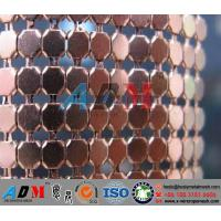 Quality Decorative Wire Mesh Cloth, Wire Mesh Cloth Curtain, Architectural Wire Mesh Curtain for sale