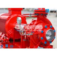 Quality 45.4m³ / h @ 135~140PSI UL Certificated Fire fighting Pump Group With Electric Motor Driven Fire Water Pump for sale