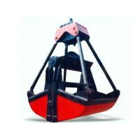 China Electric motor grab bucket for sale on sale