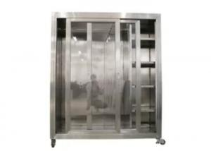 Quality Static 1500*750*1800mm Garment Cubicle Assembly/ Clean Room Dress Cabinet for sale