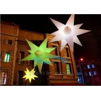 Quality Customized Star Inflatable Stage Decoration LED Christmas Lights for sale
