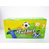 Quality World Cup Multi Fruit Flavor CC Stick Candy With Tattoo Stick And Soccer Whistle for sale