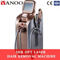 Buy cheap Shr Epilation Ipl Hair Removal And Skin Rejuvenation Machine With CE Approved from wholesalers