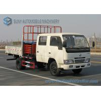 Quality 8M 10M DFAC High Altitude Operation Truck Hydraulic Aerial Cage Truck for sale