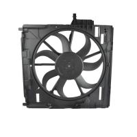 Quality X5 E70 17428618241 17428618240 Car Engine Radiator Cooling Fan 3.0si 4.8i 600W for sale