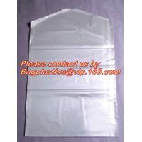 China Dry clean perforated clear poly plastic garment/laundry/clothing bags on a roll clothing storage on sale
