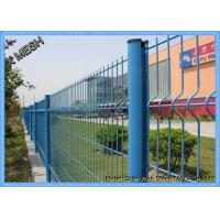 Quality 1830mm X 2500mm V Curved Mesh Fence Panels Mesh Opening : 55mm X 200mm for sale