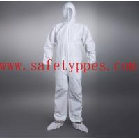 China disposable chemical suit disposable protective suit asbestos overalls paper boiler suits on sale