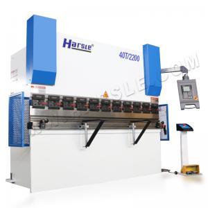 China 40ton Sheet Metal Bending Machine WC67Y/K High Precision Hydraulic Press Brake for deep box on sale