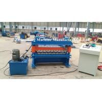 Quality Zinc / Aluminum Forming Machine 15 m / min Speed Roof Sheet Bending Machine for sale