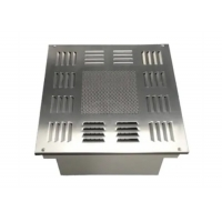 Quality Customized Ceiling Air Outlet Filter Box Diffuser With HEPA Filter Box for sale