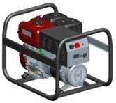 Quality 200A Civilian Petrol Welder Generator / Portable MMA Welder With AC 5.0Kw Output Power for sale