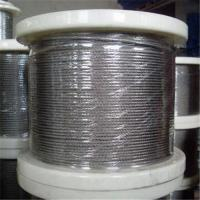 Quality Stainless Steel Wire Rope with 1 x 7, 1 to 3mm Control Cable, Available in in Grade AISI304 for sale