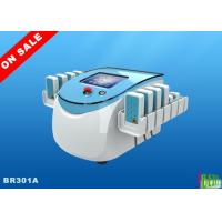 Quality 130mw Smartlipo Diodes Lipolaser Slimming Machine 8'' Display , 176 Mitsubishi Diodes for sale