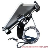 Quality COMER tablet counter display with high security wire locking framework anti-theft devices for sale