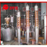 Quality Scotch Whiskey Copper Distiller , Commercial Distilling Equipment for sale