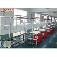 China Aluminium Production Line Conveyor Tube Assembly Line With Independent Work Table on sale