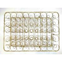 High Strength Gold Plated Wire Mesh Sofa Seat Springs , Rust Proof Spring Seat Bag Unit