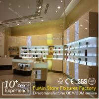 Quality customized luxury cosmetic showcase display cabinet for sale