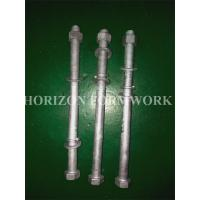 Buy cheap HDG M16 Concrete Forming Accessories Bolts And Nuts With Spring Washers For from wholesalers