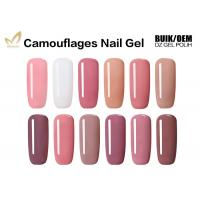 Quality High Gloss Finish Camouflage Nail Gel For Gel Nails No Fade No Smudging for sale